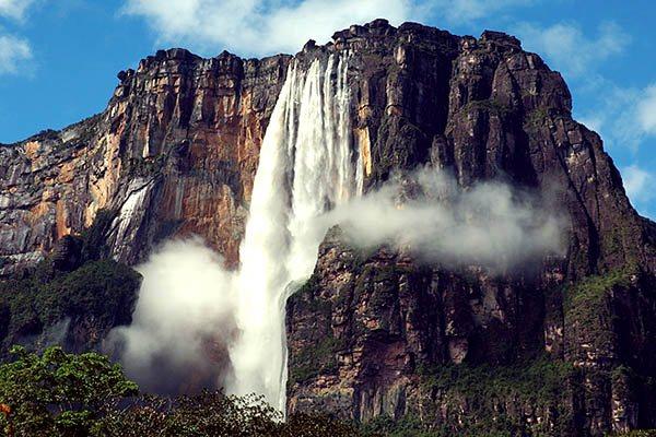 cascada más alta del mundo